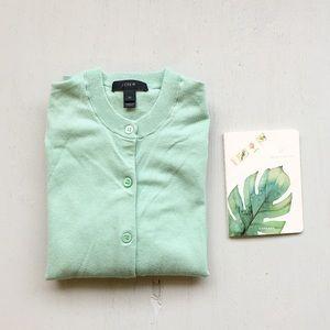 J CREW Mint cardigan